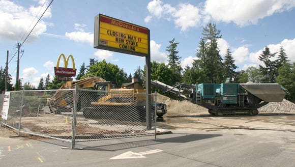A McDonald's on Mile Hill Drive closed May 17.