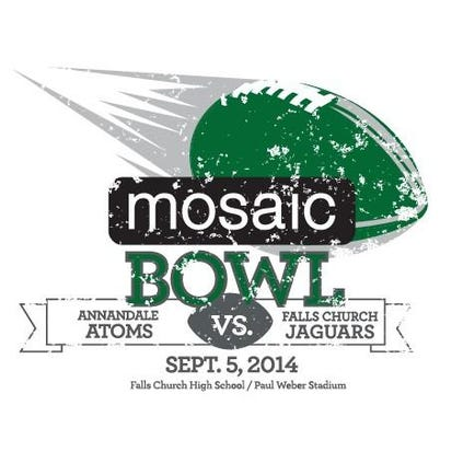 The 2014 Mosaic Bowl features Annandale and Falls Church.