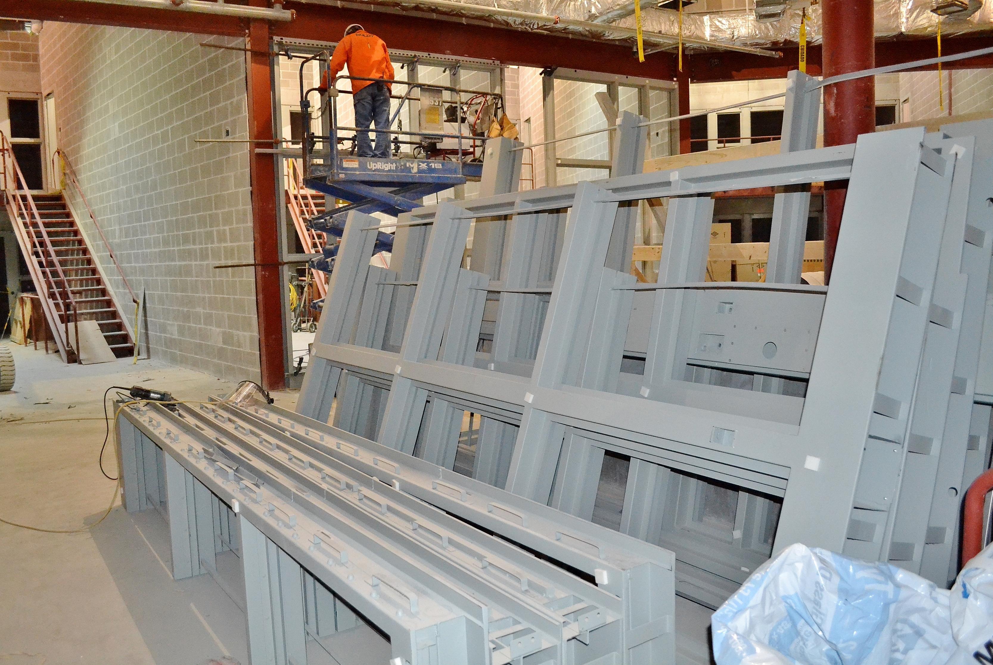 & Jail door frame maker sues county
