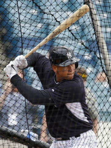 Alex Rodriguez has played just 44 games since 2012.