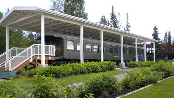 The Denali, a private railroad car used by President