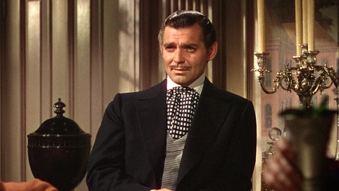 "Clark Gable in a scene from the 1939 motion picture ""Gone With the Wind."""