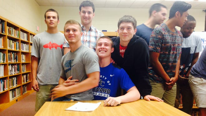 West Henderson senior Tanner Bullock has signed to play football for Brevard College.