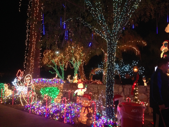 Phoenix Christmas Lights Map