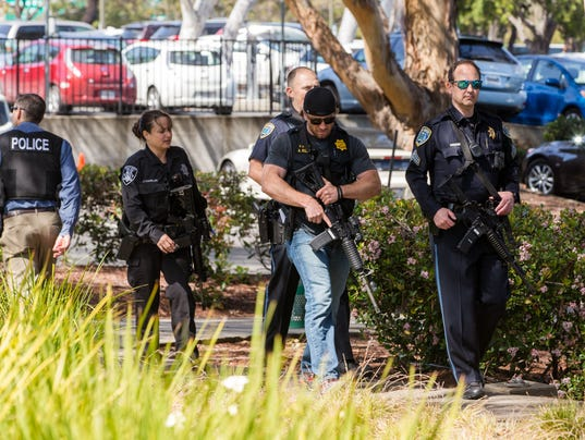 USP NEWS: SHOOTING AT YOUTUBE HEADQUARTERS S OTH USA CA