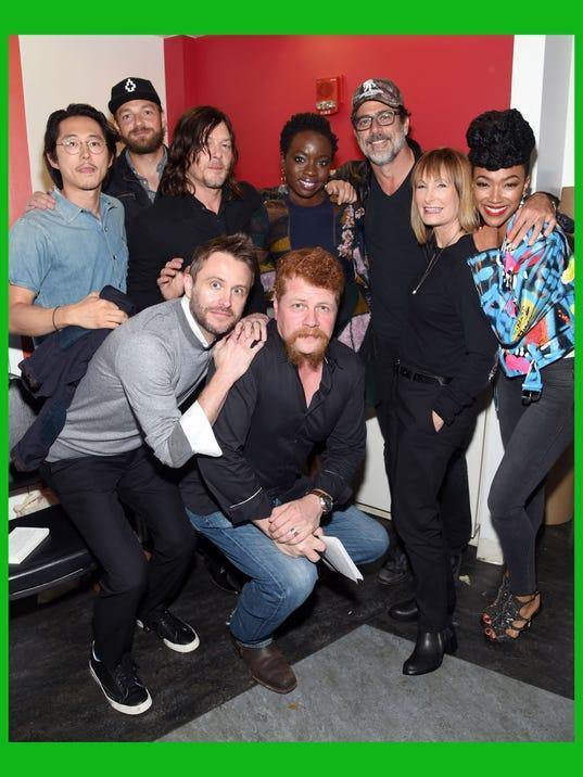 "BESTPIX: AMC presents ""The Walking Dead"" at New York Comic Con"