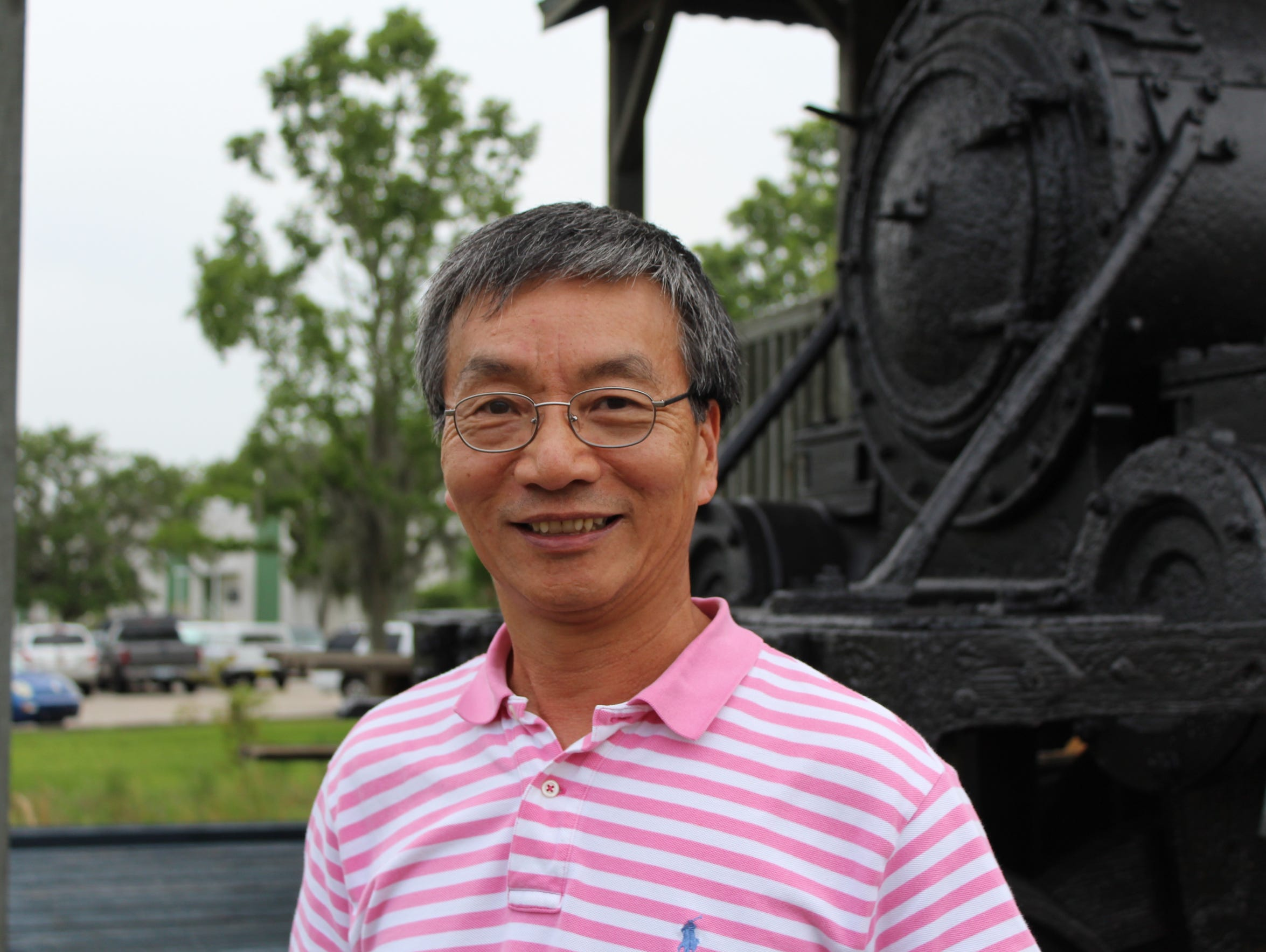 Carl Huang, president of the Taiwanese American Association