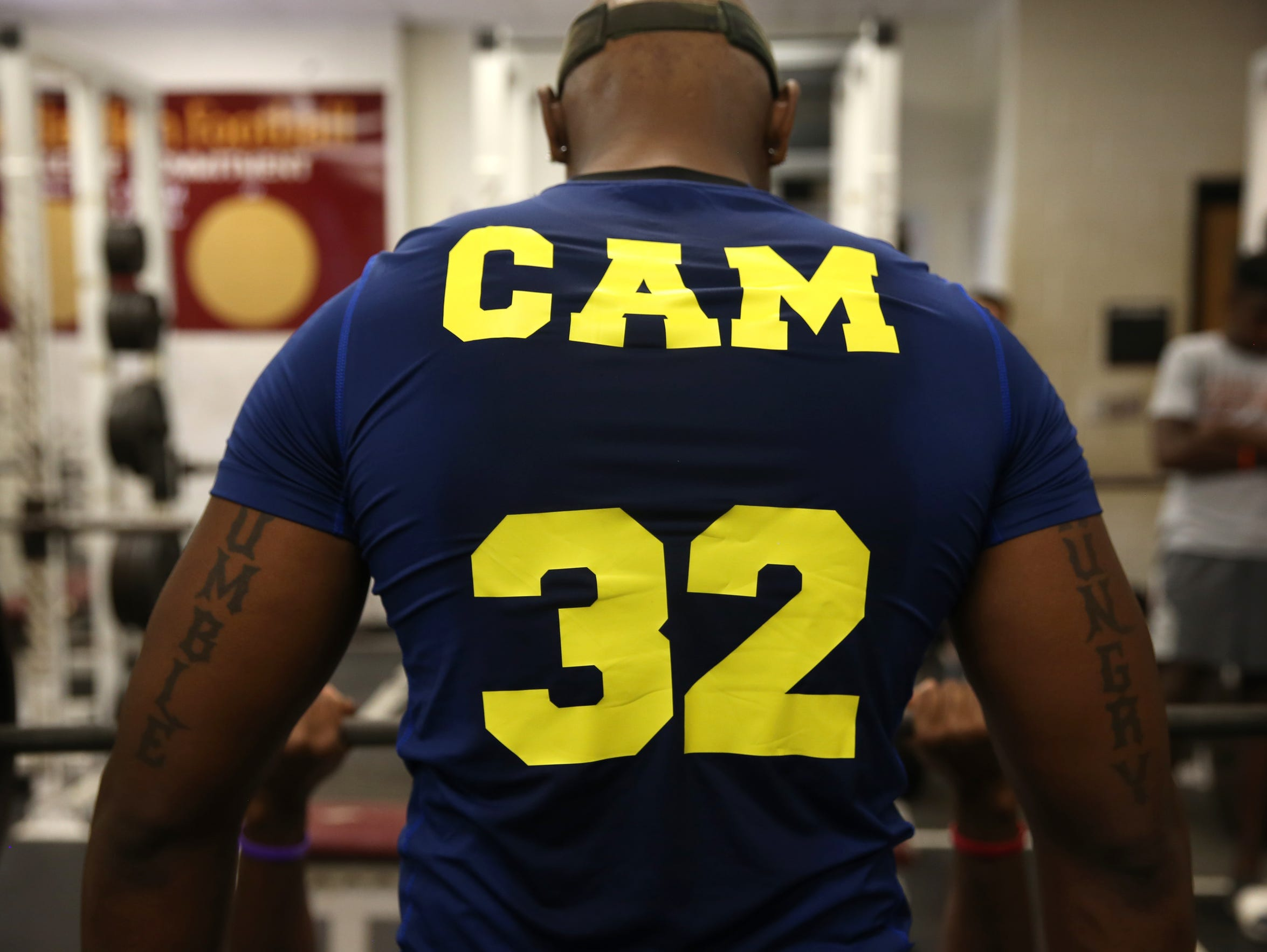 Cam Brown, who last month graduated from Florida High,