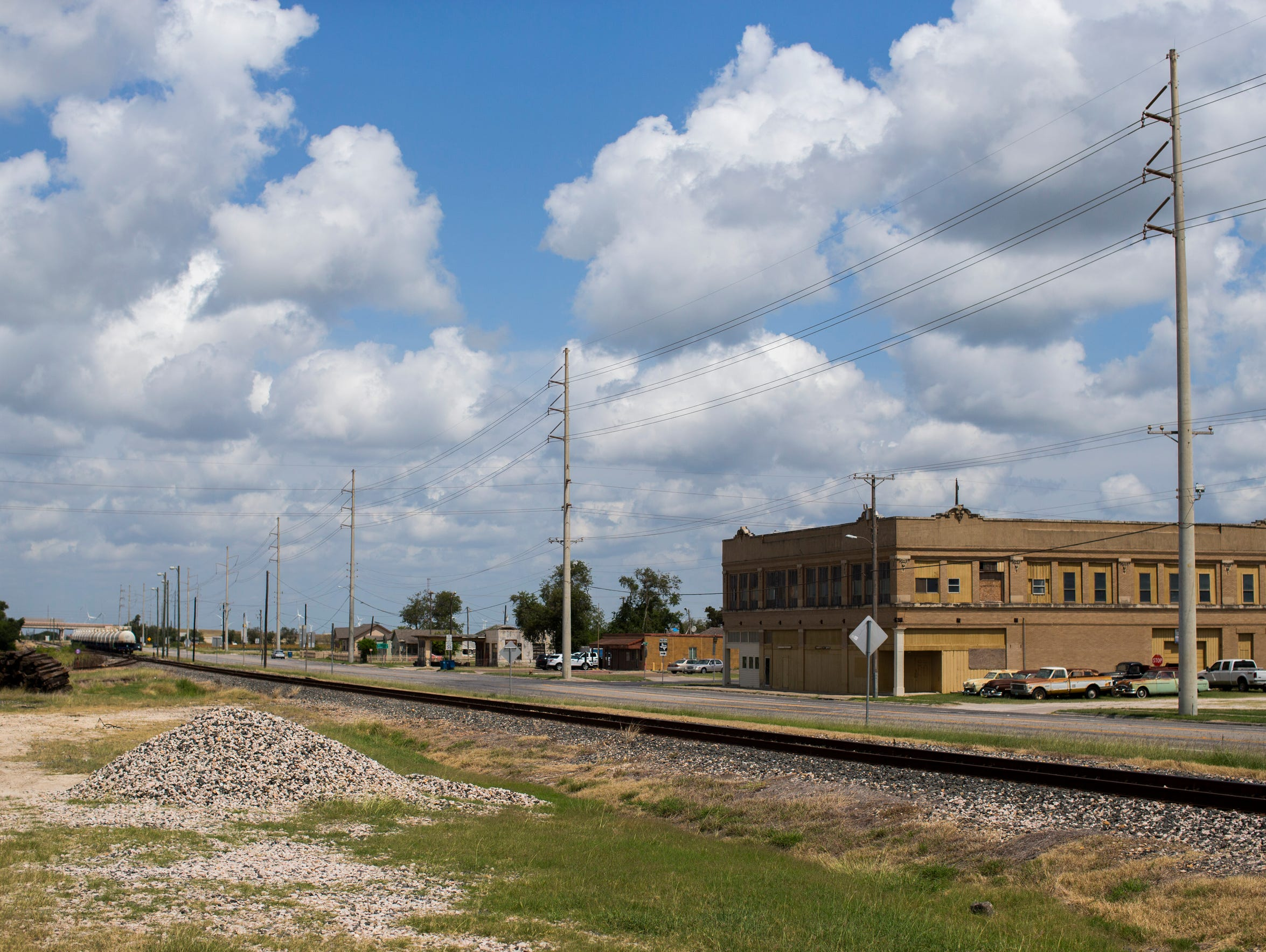 Gregory, Texas on Monday, June 4, 2018.