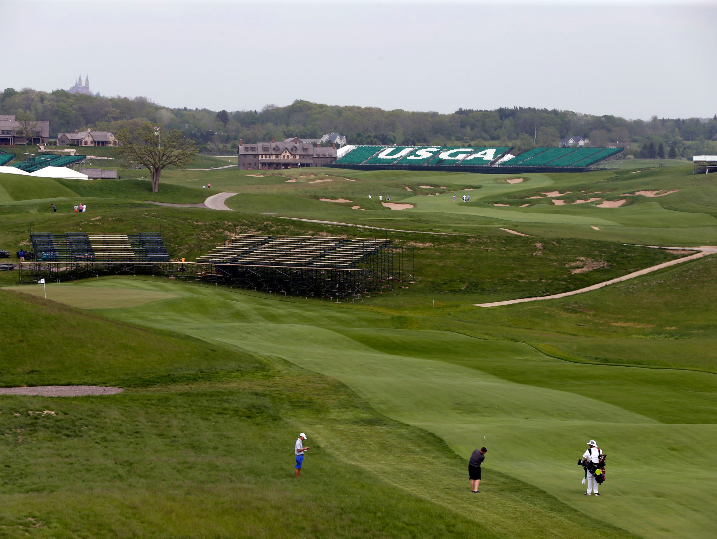The Making Of A US Open Course Erin Hills Series Finale - Us open erin hills map
