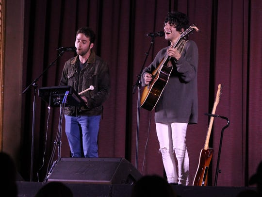 The Brothers Page performs at the Lafayette Theater