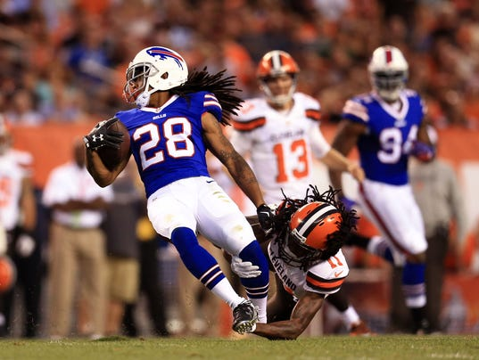 NFL: Preseason-Buffalo Bills at Cleveland Browns