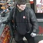 The man seen in this surveillance photo is a suspect in a theft and fraud case. St. George Police ask anyone who recognizes him to call 627-4330.
