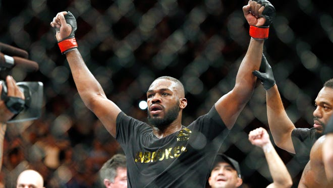 """Jon Jones was former UFC light-heavyweight champion Jon Jones will finally go before a judge.  """"Bones"""" is due in Bernalilo County (N.M.) District Court on Thursday for a hearing on an alleged probation violation."""