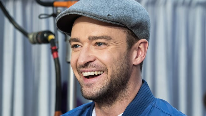 Actor/singer-songwriter Justin Timberlake, in New York City on Oct. 6, 2016, was wearing this same hat as he voted Oct. 24 in Germantown, Tenn.