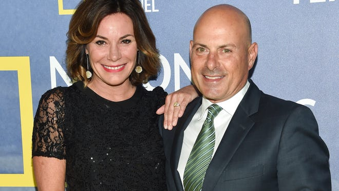 LuAnn de Lesseps and Thomas D'Agostino attend a Los Angeles premiere in the happy days of 2016.