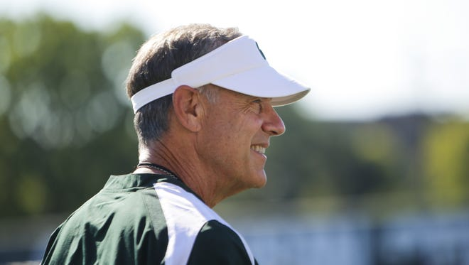 Michigan State football coach Mark Dantonio is at No. 9 on Pat Forde's annual list of most intriguing college football coaches.