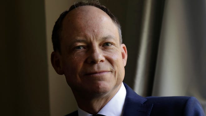 In this May 15 photo, Judge Aaron Persky poses for photos in Los Altos Hills. Persky says he would handle the sexual assault case of former Stanford University swimmer Brock Turner the same way today as he did two years ago, even though it's the reason why he was the target of a recall election in Santa Clara County.