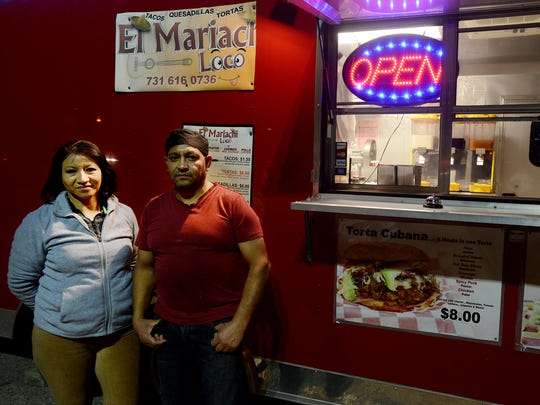 Irma and Martin Muñoz are the owners of El Mariachi, a local food truck located in the parking lot of Marathon Gas at 236 Oil Well Road.