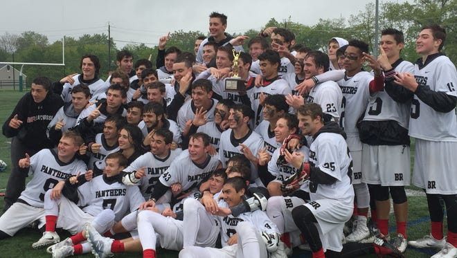 The top-seeded Bridgewater-Raritan boys lacrosse team won its third-straight Somerset County Tournament title on Saturday, May 13, 2017.