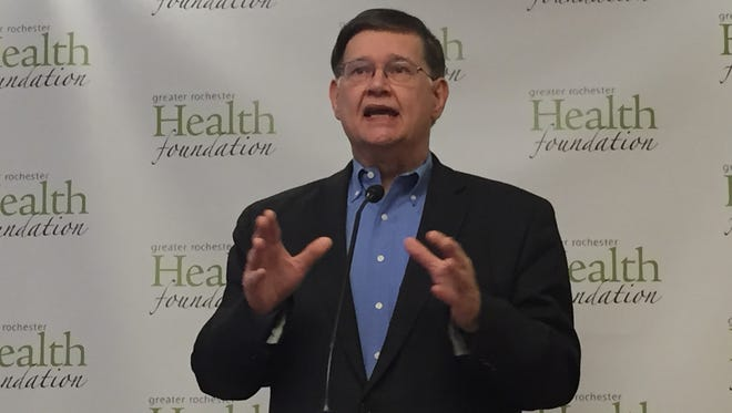 John Urban is stepping away from his role as president and chief executive officer of the Greater Rochester Health Foundation. Urban had been president and CEO of Preferred Care, which was bought by MVP Health Care. The acquisition created the Greater Rochester Health Foundation.