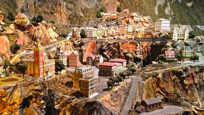 Northlandz is the world's largest model railroad museum.
