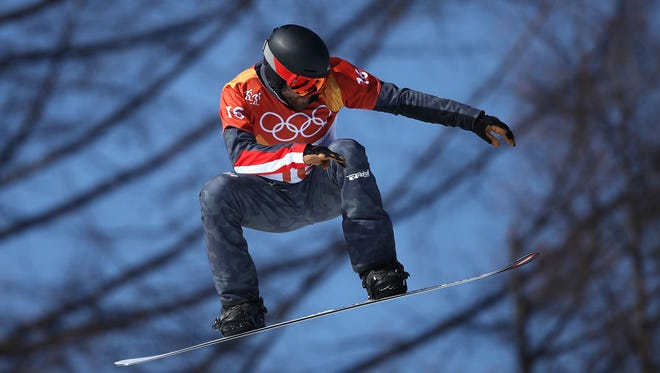 Austrian snowboarder Markus Schairer suffered a serious injury on Thursday.
