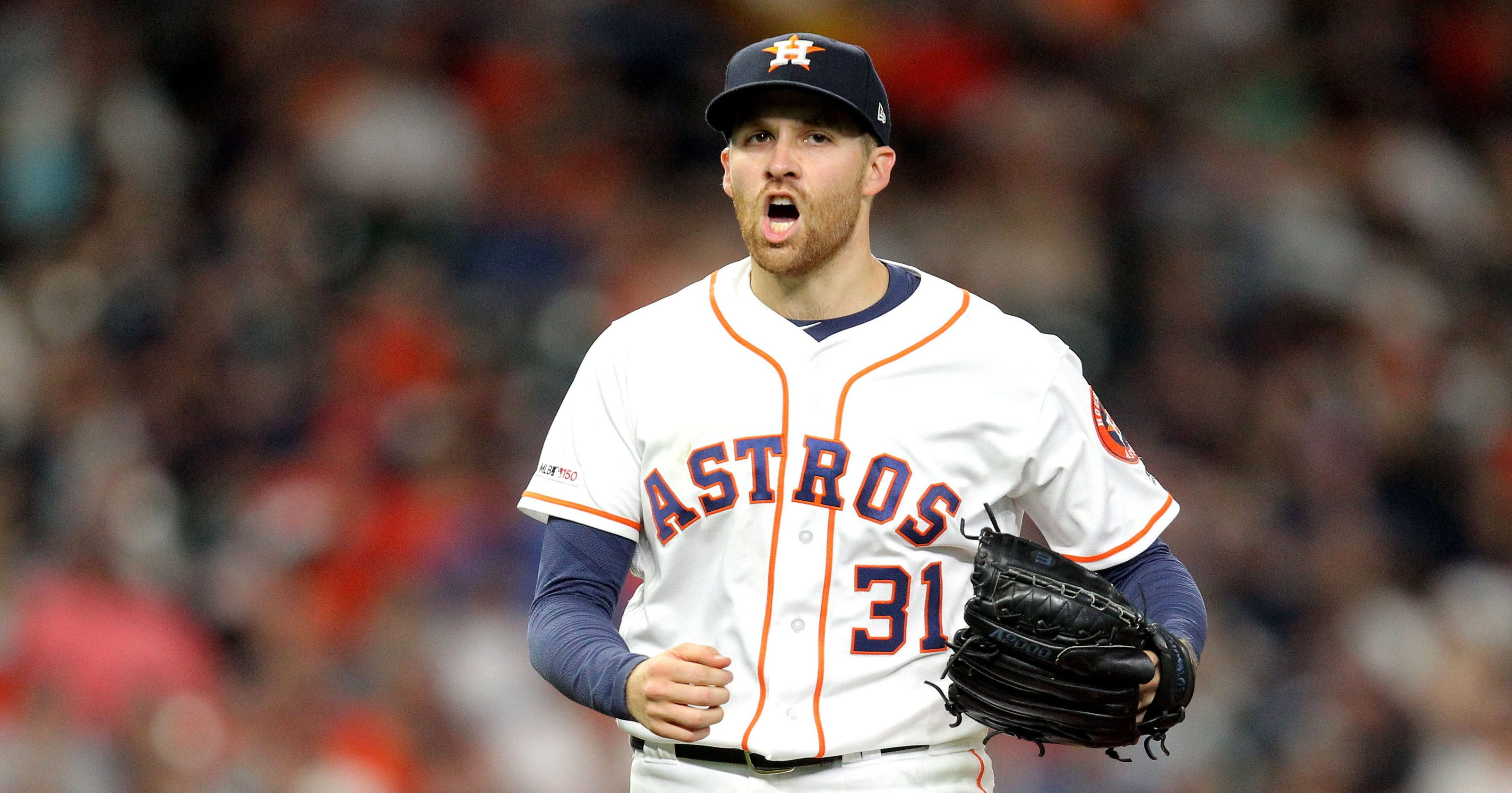 MLB: Astros pitcher dodges line drive with wild 'Matrix' move