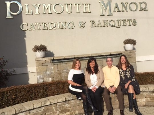 Nick Ristich and daughters Krista Schneider, Lisa Briones and Stephanie Kopinski outside the business where they gave 30 years of their lives.