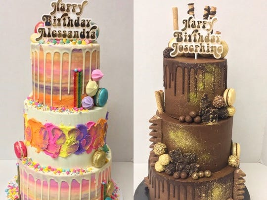 Over the Rainbow recently created birthday cakes for