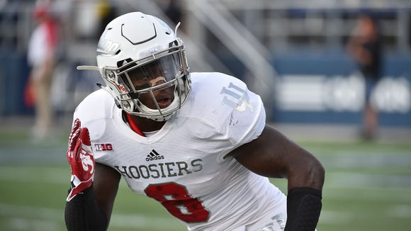 IU All-American LB Tegray Scales announced he's returning to Bloomington for his senior season.