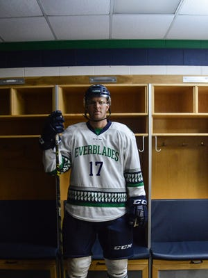 The Florida Everblades unveiled a new white jersey for the 2016-17 season on Friday, Sept. 2, 2016.