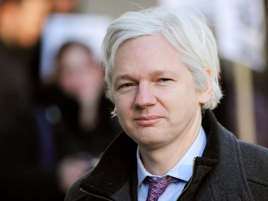 EPA FILE BRITAIN ASSANGE CLJ PEOPLE JUSTICE & RIGHTS GBR
