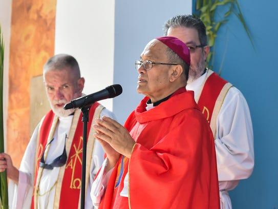 In this file photo, Archbishop Anthony Sablan Apuron