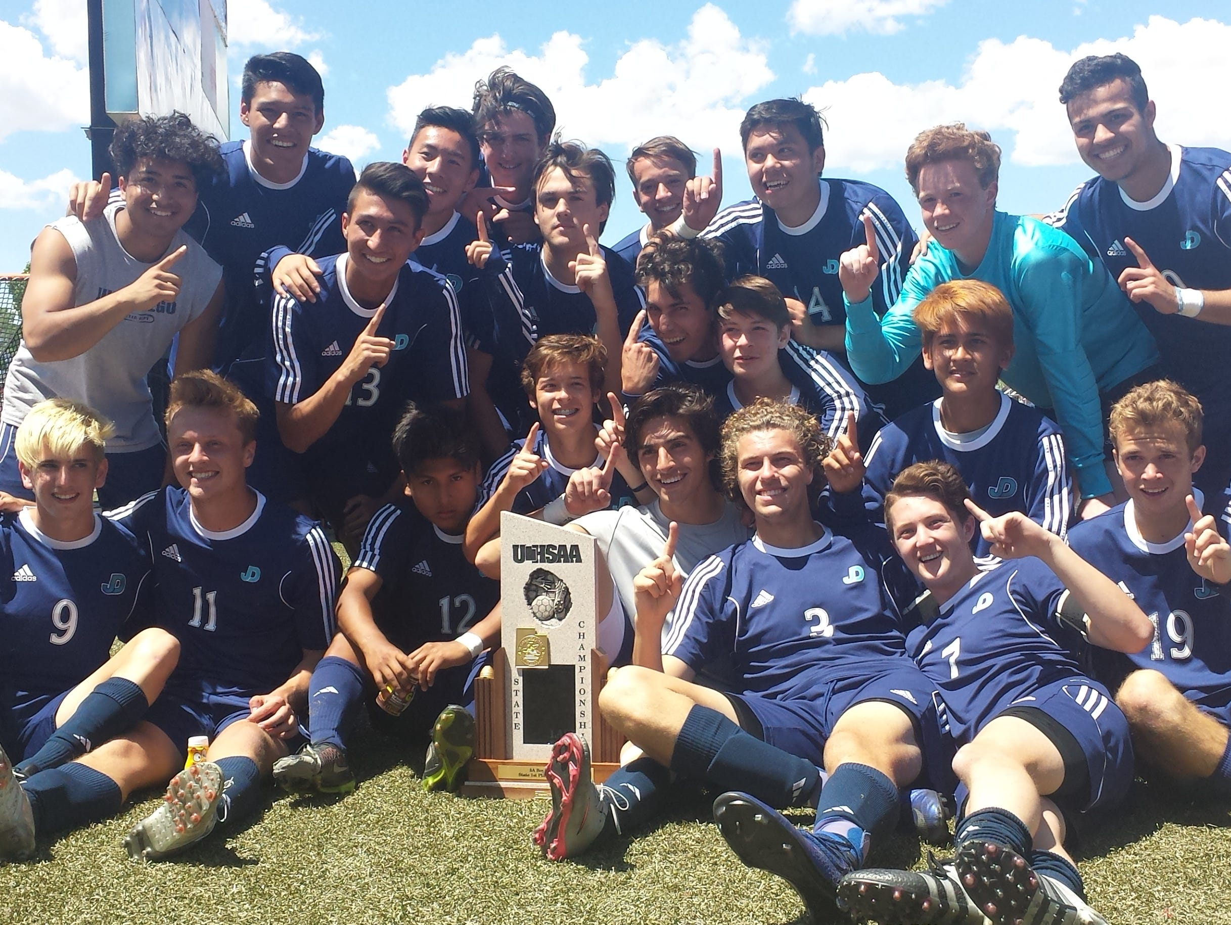 Juan Diego capped off an undefeated season with a tough 1-0 win over the Snow Canyon Warriors in the 3A state championship game on Saturday.