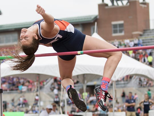 Galion's Marisa Gwinner competed in the Division II