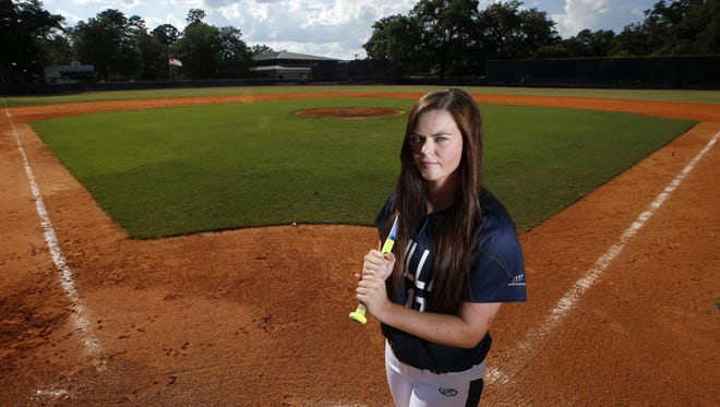 Aucilla Christian sophomore Abigail Morgan is the 2016 All-Big Bend Player of the Year in softball after going 15-3 in the circle with a 1.02 ERA while batting .494 with 35 RBI during the Warriors' state-championship season.