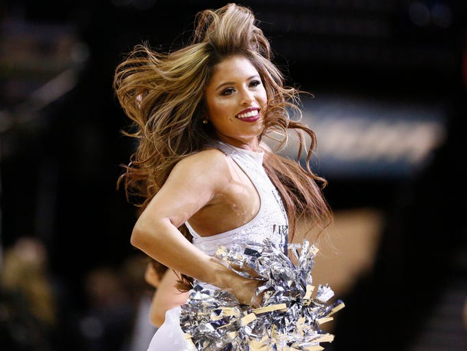 2014-15 NBA cheerleaders and dance teams