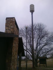 A new siren warning system was installed at the Little
