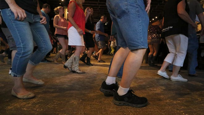It's not just boots on Bernie's Taproom and Restaurant floor during line dance classes in Waukesha.