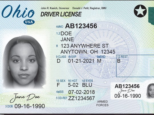 Ohio's new optional compliant driver's license meets