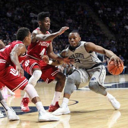 Men's basketball: Indiana at Penn State