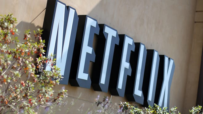 A shot at Netflix corporate headquarters in Los Gatos, Calif.
