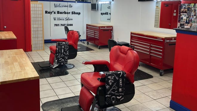 Holbrook native Roy Turner Sr., celebrating 20 years of running Roy's Barbershop in town, took the time while he was shut for the pandemic to do some remodeling.