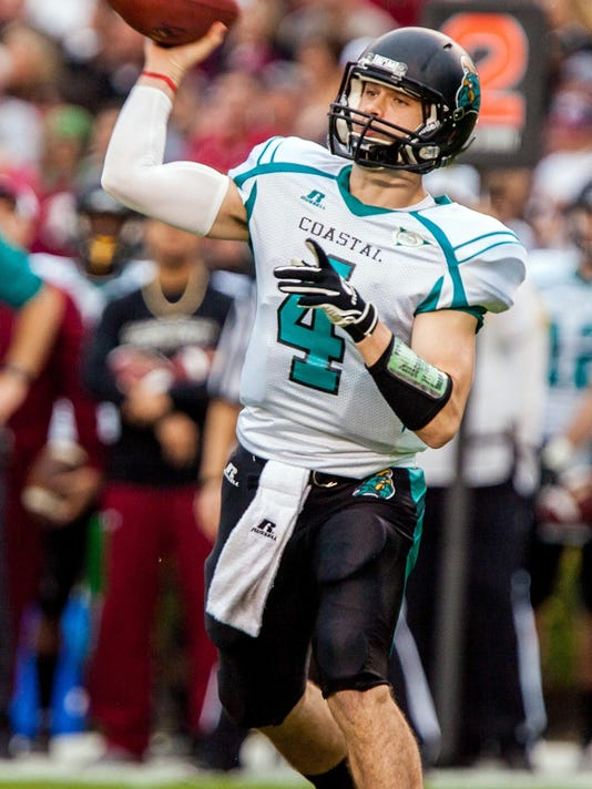 NCAA Football: Coastal Carolina at South Carolina