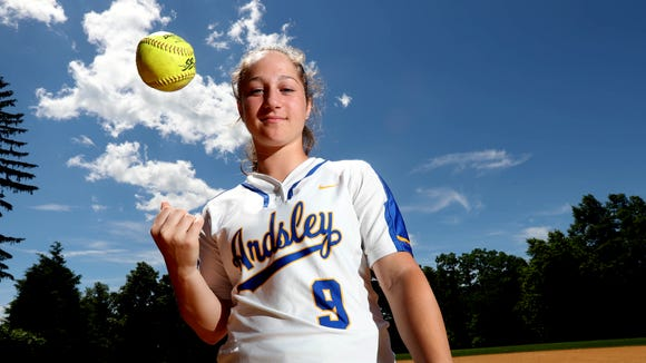 Lauren Rende of Ardsley High School, photographed June 19, 2018, is this year's Westchester/Putnam softball player of the year.