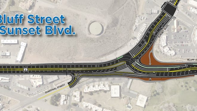 The Utah Department of Transportation is proposing a new redesign of the intersection at Bluff Street and Sunset Boulevard in St. George.