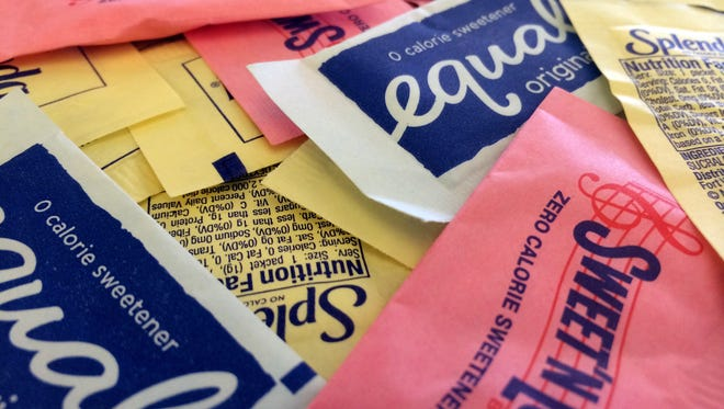 """Artificial sweeteners may set the stage for diabetes in some people by hampering the way their bodies handle sugar, according to results of a study released Wednesday by the journal """"Nature."""""""