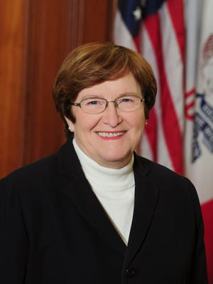 Patty Judge, a former Iowa lieutenant governor and secretary of agriculture, will face state Sen. Rob Hogg, as well as former Iowa lawmakers Tom Fiegen and Bob Krause, in the June 7 Democratic primary.