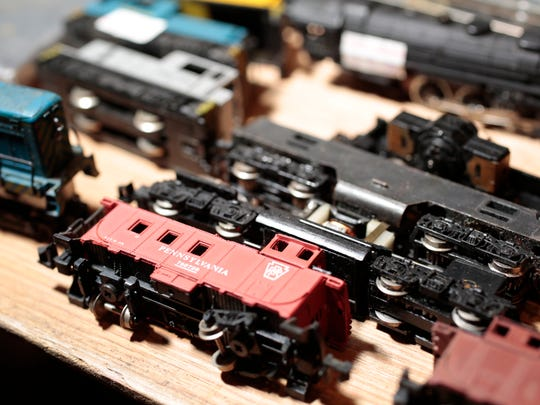 Some of the toys that were for sale at the Toy and Train Show at the Westchester County Center in White Plains on Jan. 25, 2015.
